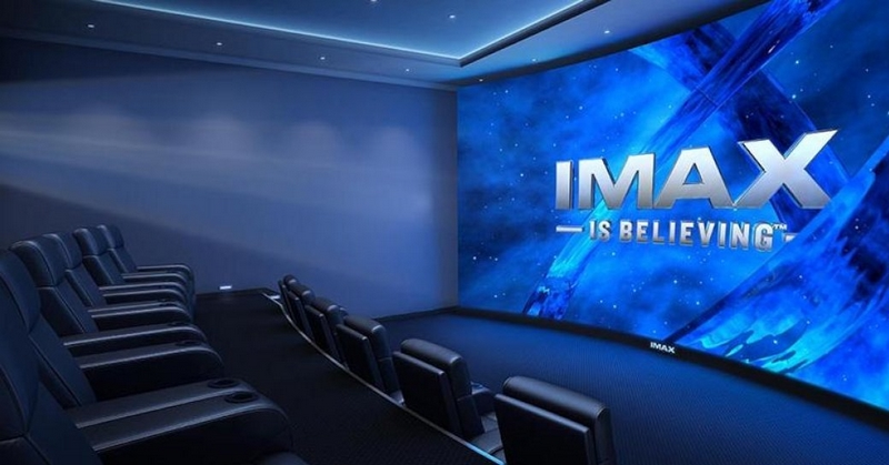 imax private movie theatre ladys