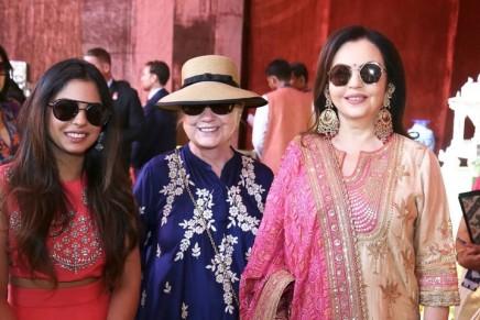 Isha Ambani wedding: Beyoncé and Hillary Clinton jet to India for celebration