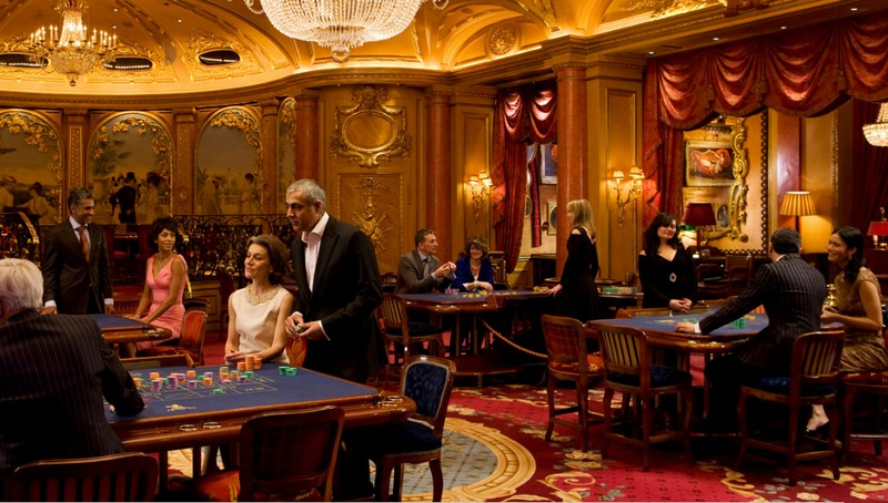 inside the Ritz Club London