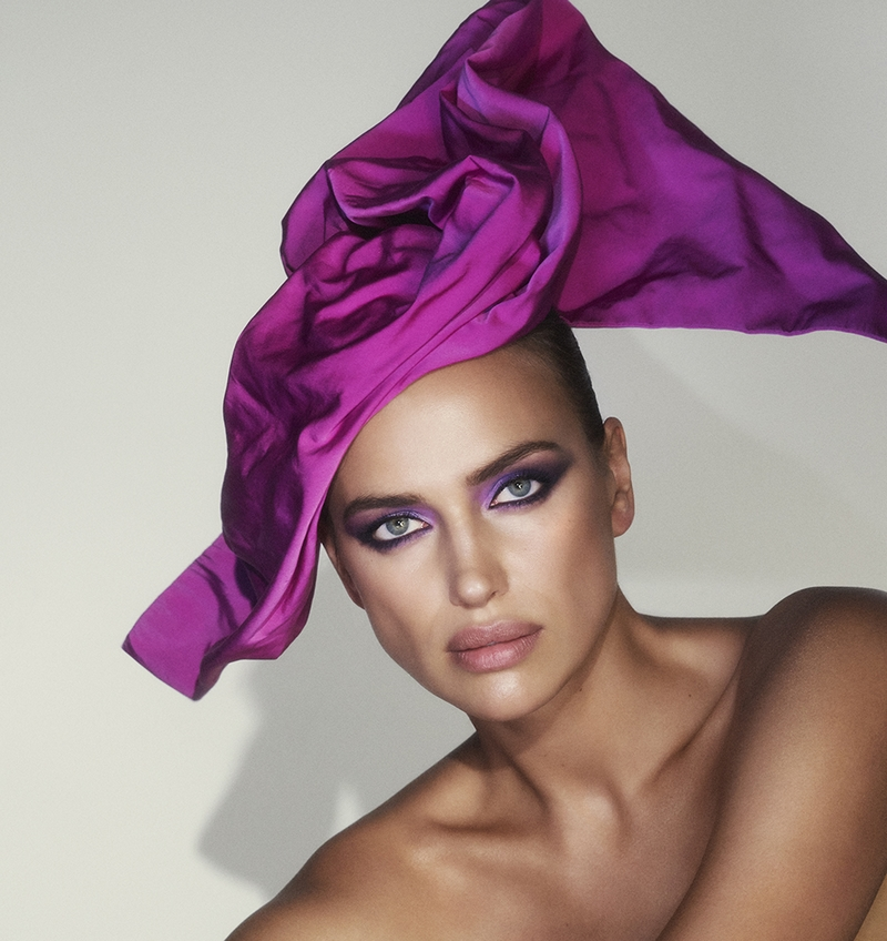 irina shayk is the newest face of the marc jacobs beauty for 2019