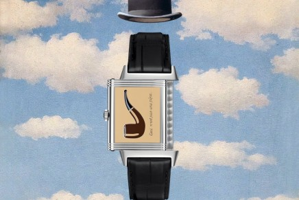 Jaeger-LeCoultre Reverso in tribute to René Magritte