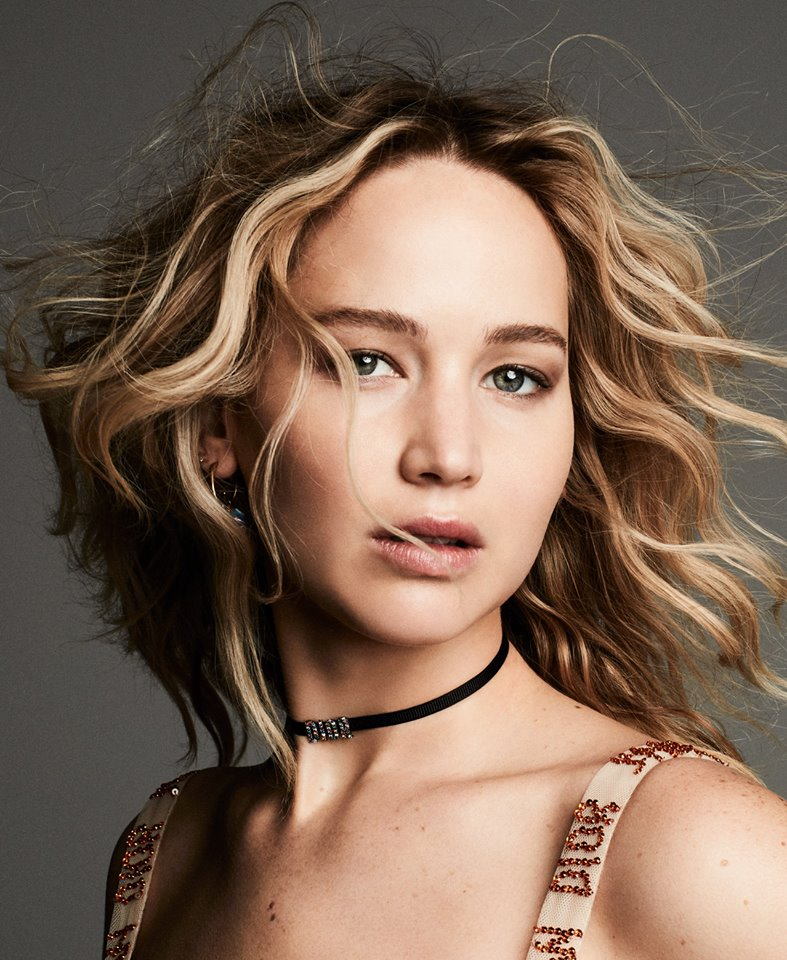 jenniferlawrence- the face of the new Dior