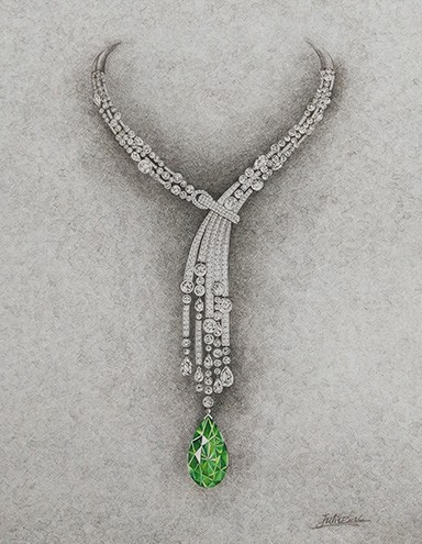 jeweller Fairfax & Roberts has partnered with the ultra-luxury resort to create the spectacular Wolgan Necklace