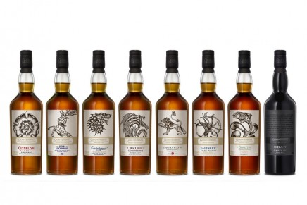 This limited-edition Scotch Whisky collection is inspired by the Game of Thrones. Choose your house