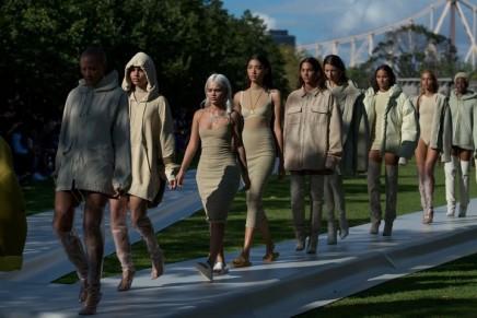 Kanye West's Yeezy show: fake Malia Obama and terra firma bodycon