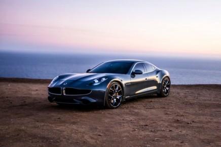 2017 Karma Revero luxury hybrid automobile
