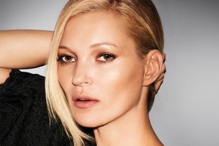 Brit-rock glamour look: DECORTÉ's Kate Moss Favorites makeup kit.