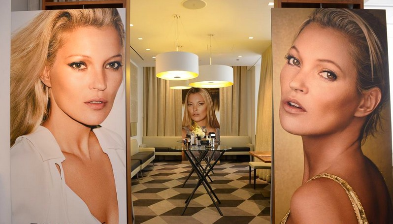 kate moss for decorte makeup