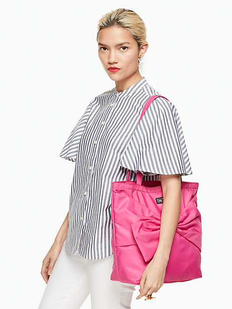 kate spade on purpose pink tote