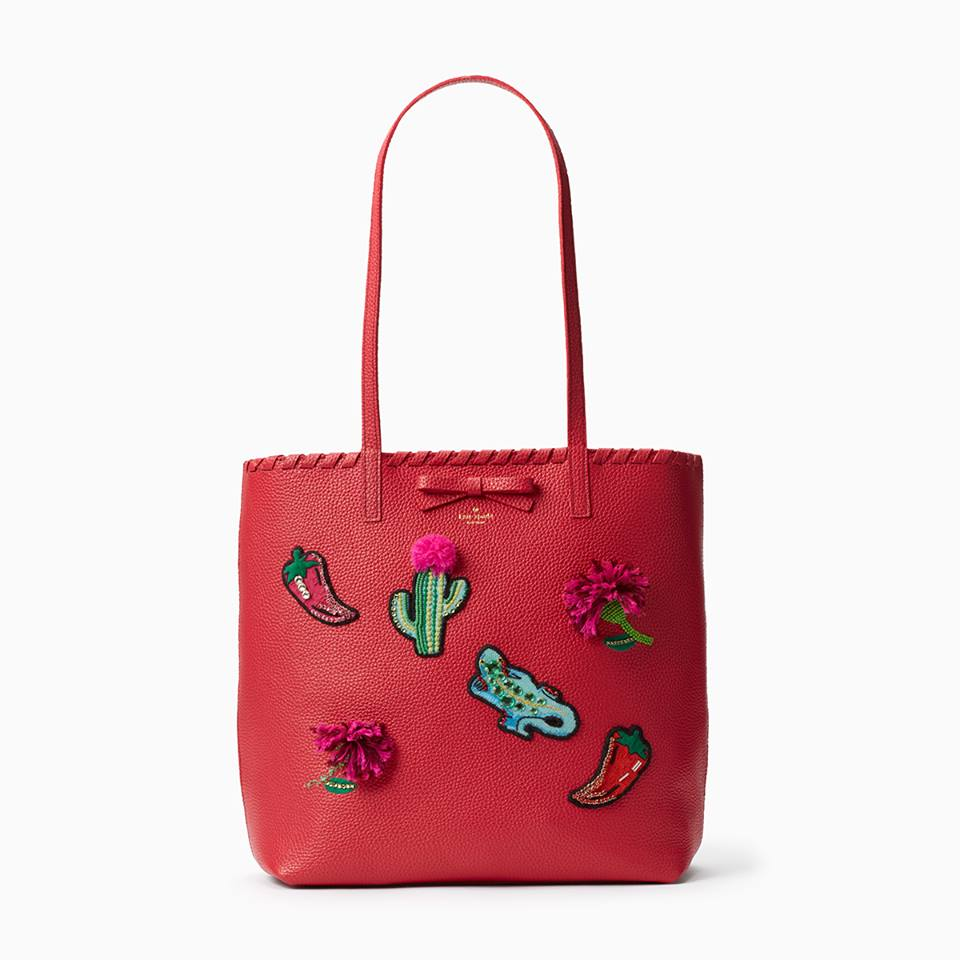 kate spade small leather accessories-small tote
