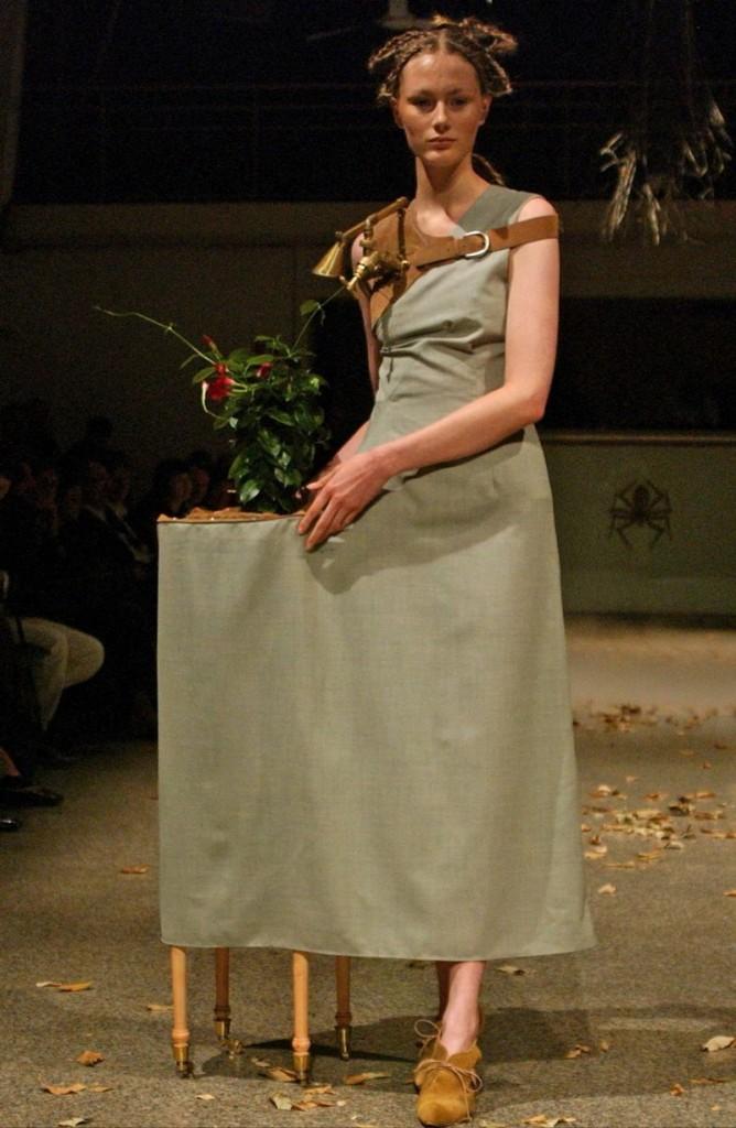 kei kagami conceptual pieces - Spring Summer 2007