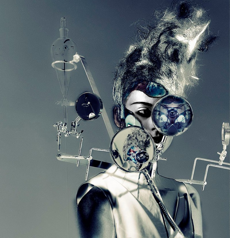 kei kagami conceptual pieces - anatomy 2007 photo by Tigi International
