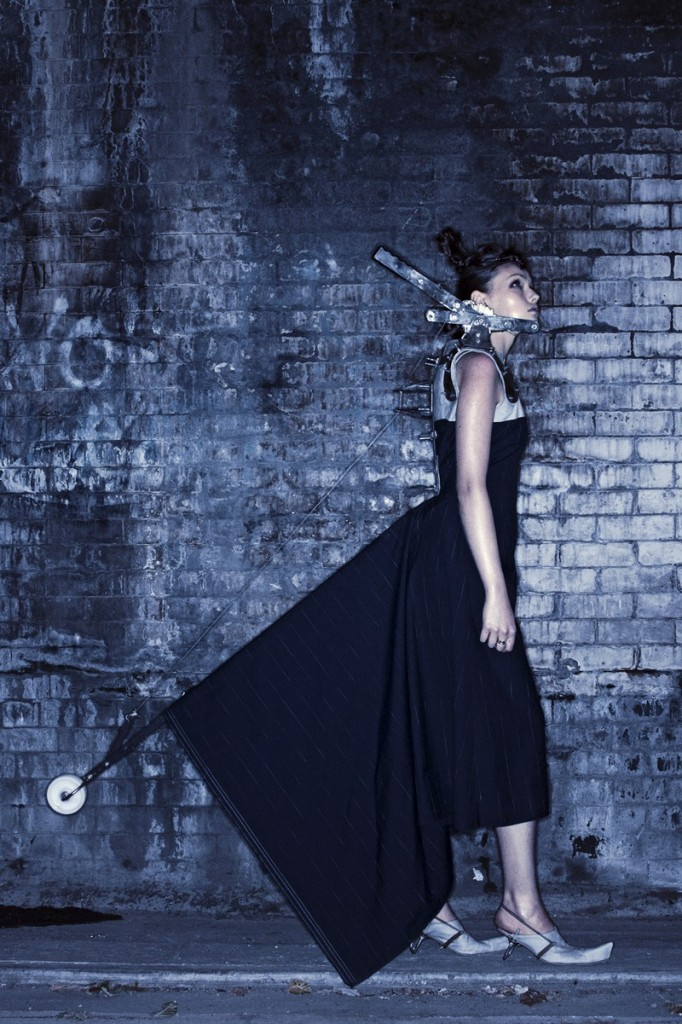 kei kagami conceptual pieces - industrial revolution 2003 , photo by andy tommo-