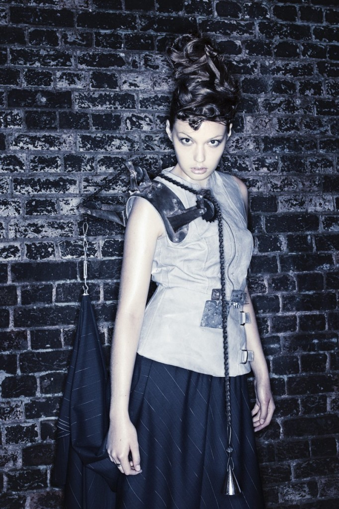 kei kagami conceptual pieces - industrial revolution 2003 - photos by andy tommo