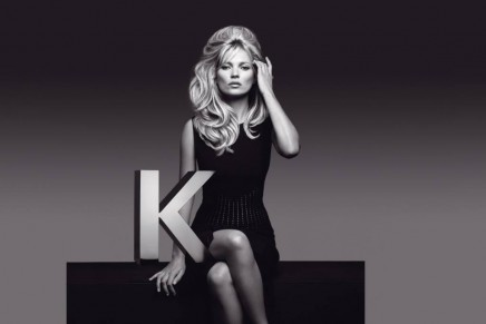 Perfectly imperfect look: Kate Moss reinterpreting Brigitte Bardot's famous hairstyle