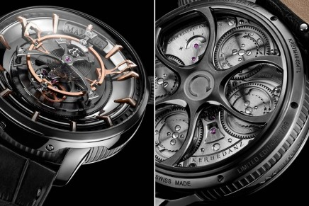 "Maximus Kerbedanz – the largest ""tourbillon"" for wristwatch of the world"