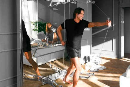 Exercise furniture for a dream gym. Technogym's Personal Collection