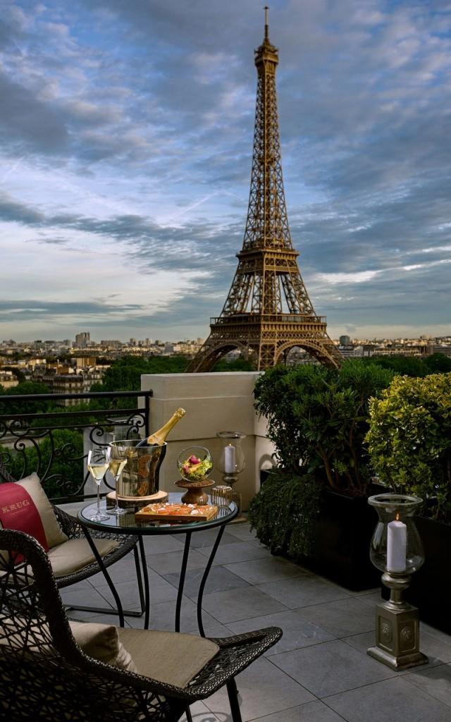 krug champagne terrace