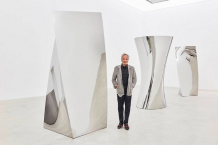 'You could disappear into it': Anish Kapoor on his exclusive rights to the 'blackest black'