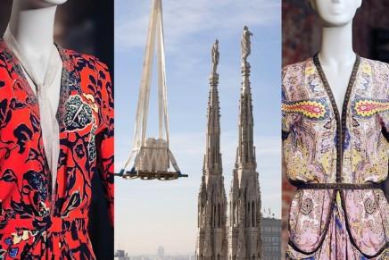 La Moda aiuta il Duomo. The symbol of Milan helped by fashion