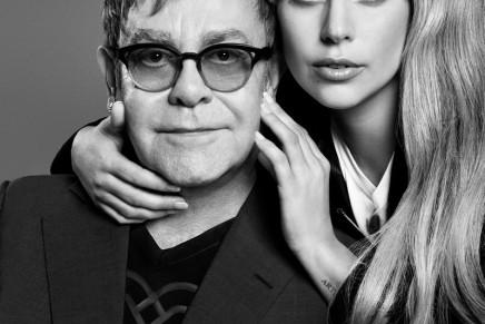 Lady Gaga and Sir Elton John partner for Love Bravery