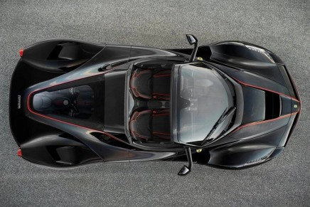 The order book is closed for the new LaFerrari, the drop-top to be premiered at the Paris Motor Show.