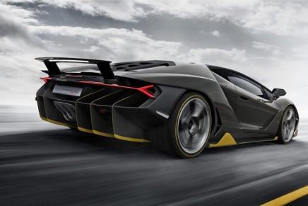 2016 Geneva Motor Show: A Centenario at a start price of 1.75 million euros. All 40 Lamborghinis are already sold