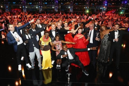 World's greatest ever sprinter Usain Bolt wins fourth Laureus Award