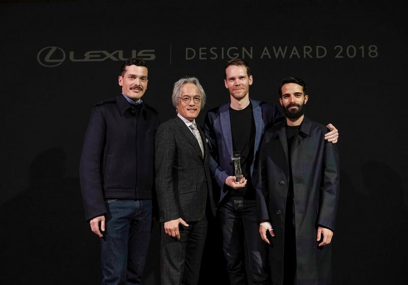 lexus design awards 2018 winners