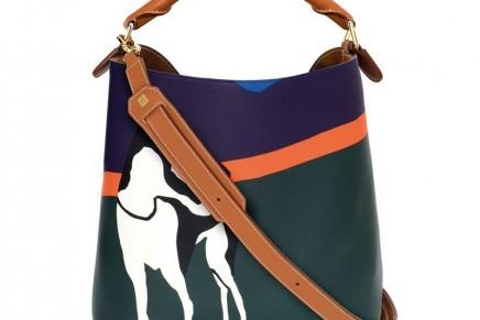John Allen's textile designs re-interpreted in Loewe leather