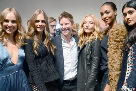 London fashion week: Burberry and Christopher Kane look to the stars