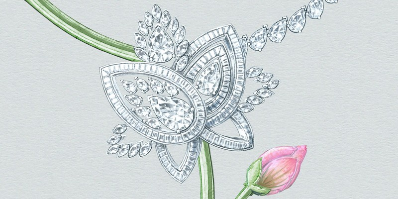 lotus by debeers - BLOOMING LOTUS