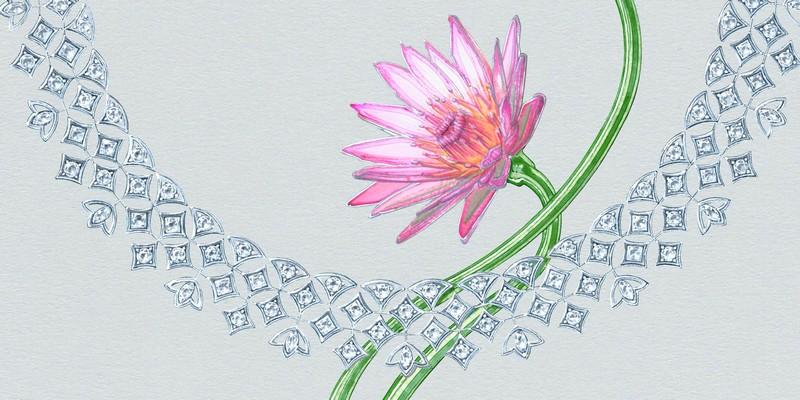 lotus by debeers - RADIATING LOTUS