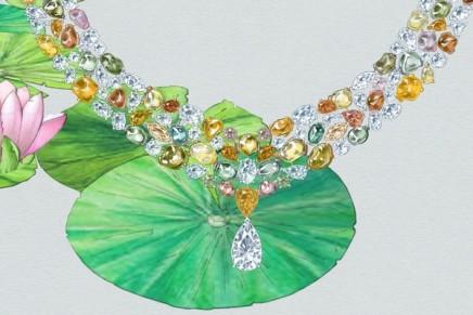 Diamonds sculpture: De Beers Lotus unfurls to reveal a perfect bloom