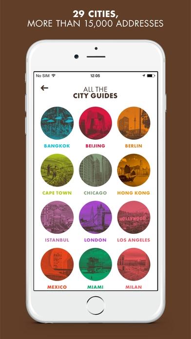 louis vuitton city guide app screenshot