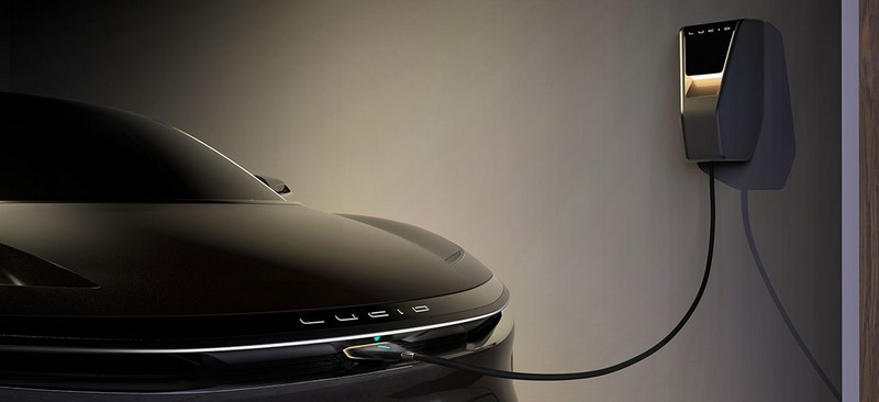 lucid air e-car-