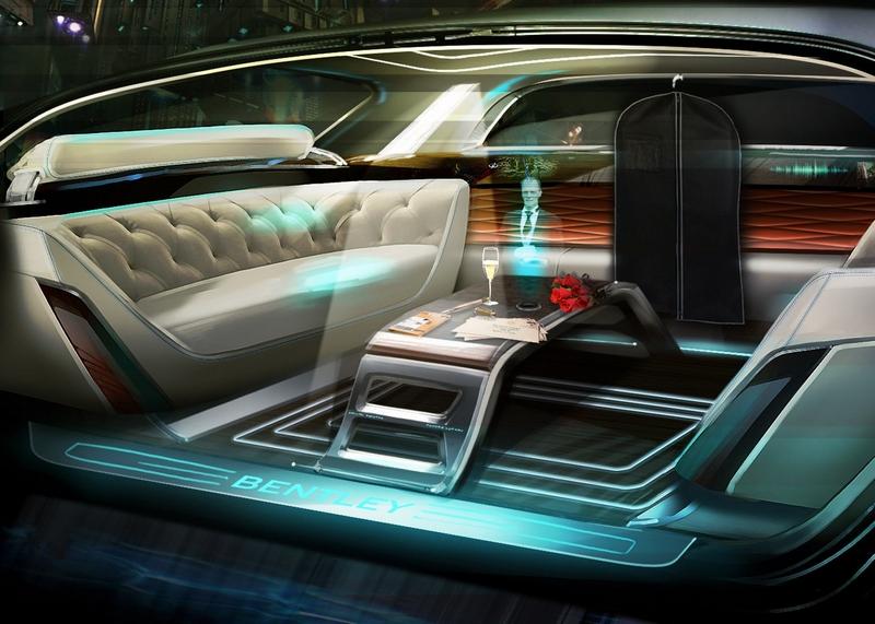 luxury driverless cars-bentley
