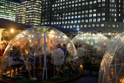 Are pop-up igloos the new Christmas markets?