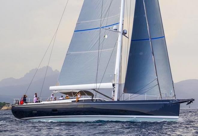 luxury maxi yacht A80 -