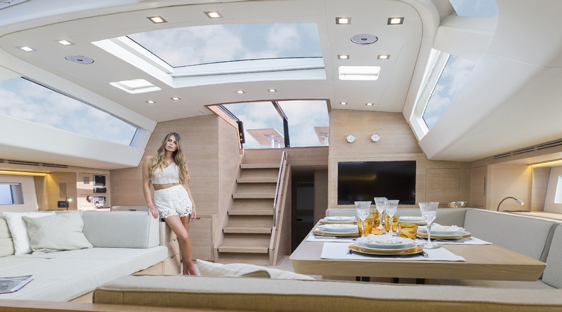 luxury maxi yacht A80 - interiors 2018-04