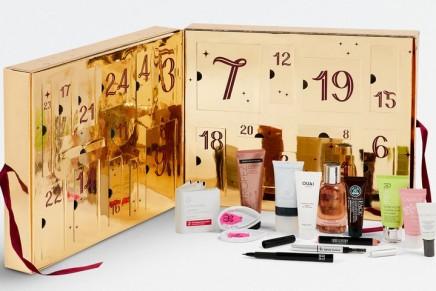 Luxury beauty advent calendars