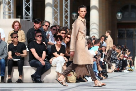 Punks on safari: Louis Vuitton's menswear goes back to its roots