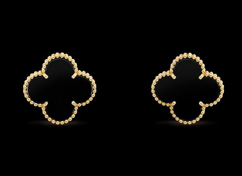 -magic alhambra earrings