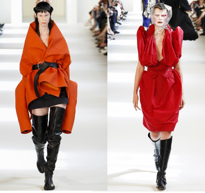 Maison margiela couture week paris artisanal collection for Galliano margiela
