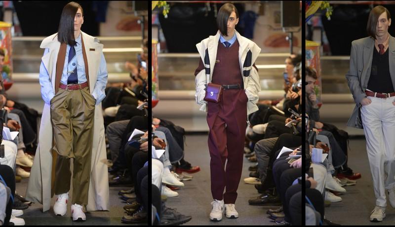 martine rose aw2017-2018 fashion show looks