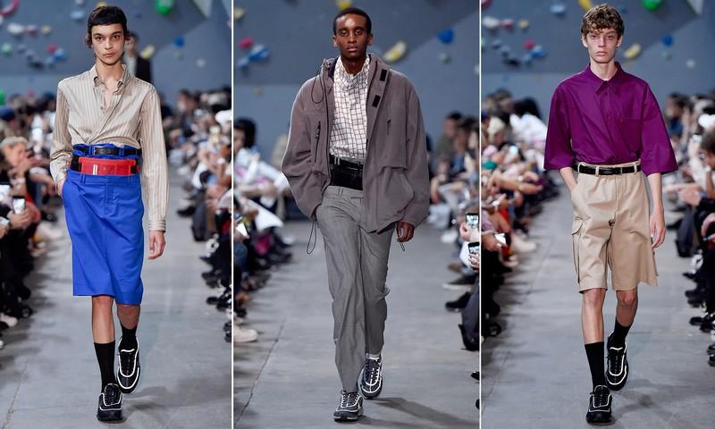 martine rose london men's fashion show looks