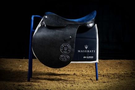 Maserati La Martina luxury polo saddles