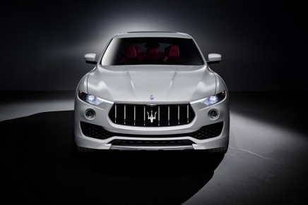 Levante SUV. From Maserati assembly line in Turin to 2016 Geneva Motor Show