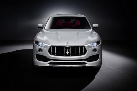 Levante SUV. From Maserati assembly line in Turin to 2016 Geneva Motor Show