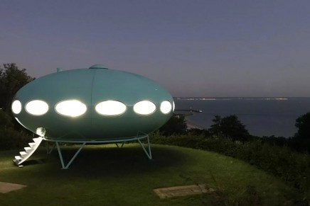 Back to the Futuro: the spaceship house that landed in Yorkshire